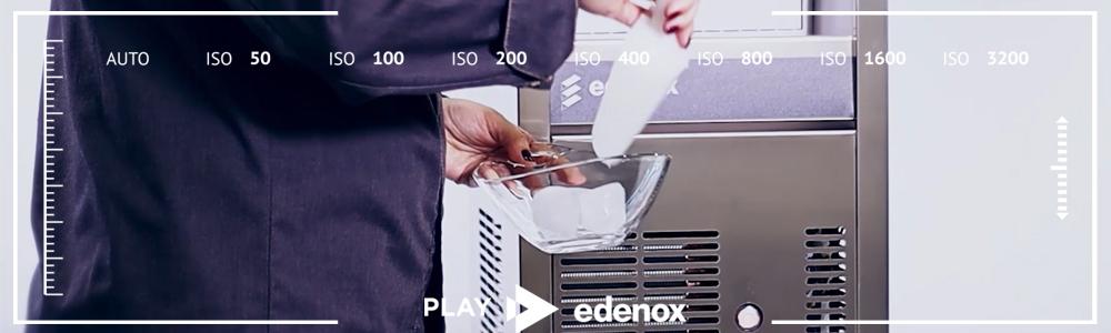 Máquina de hacer hielo- edenox